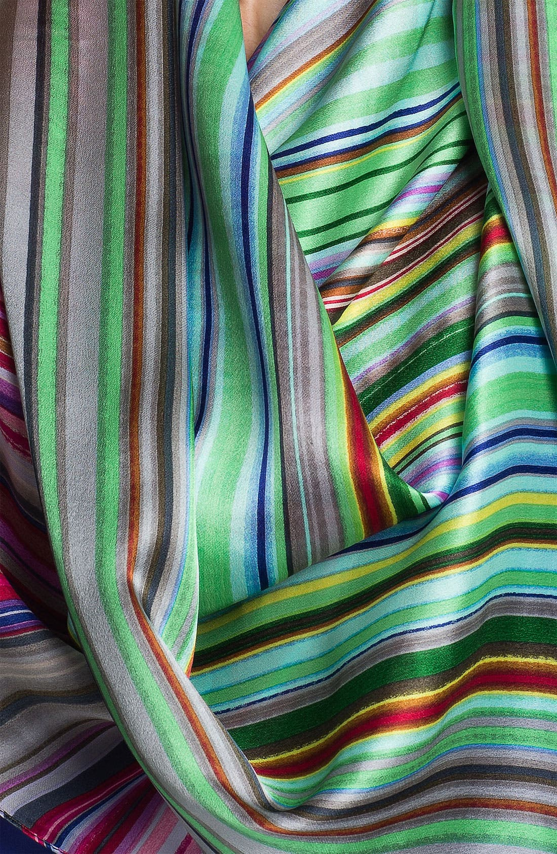 Alternate Image 2  - Echo 'Sunburst Stripe' Silk Scarf