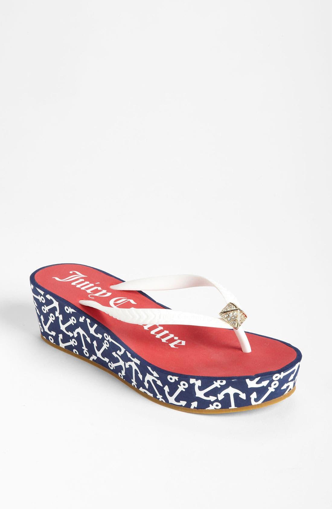 Main Image - Juicy Couture 'Irie' Flip Flop