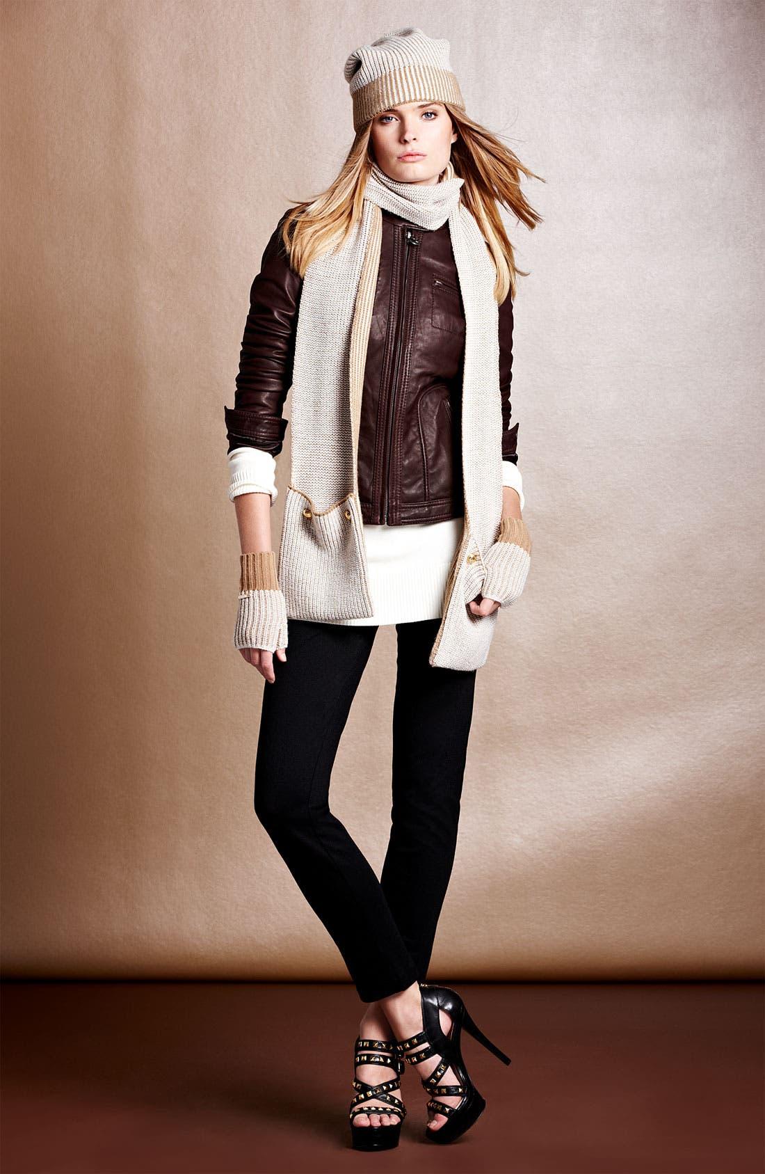 Alternate Image 1 Selected - MICHAEL Michael Kors Jacket, Pants & Scarf