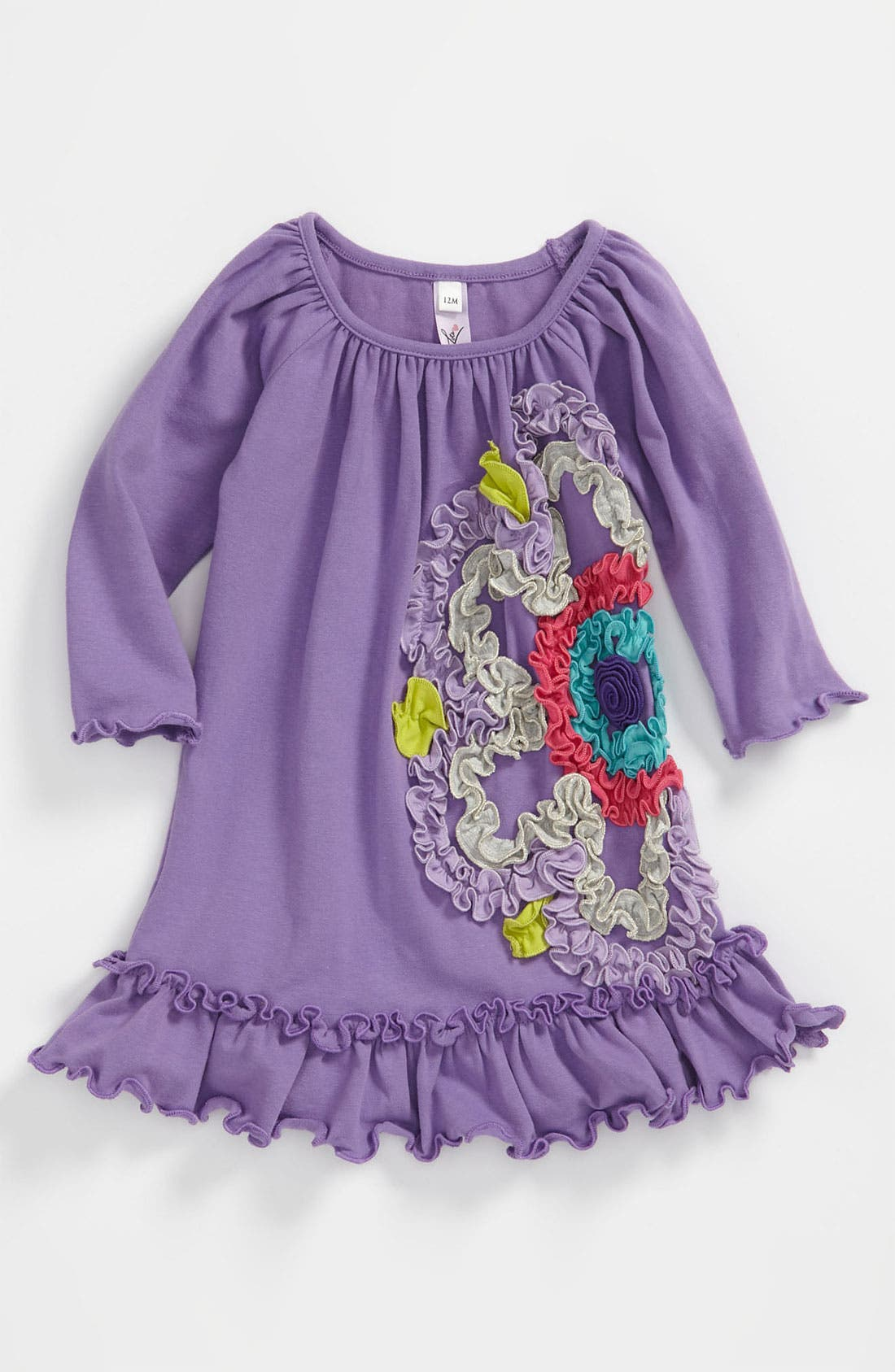 Alternate Image 1 Selected - Love U Lots 'Ruffle Flower' Dress (Toddler)