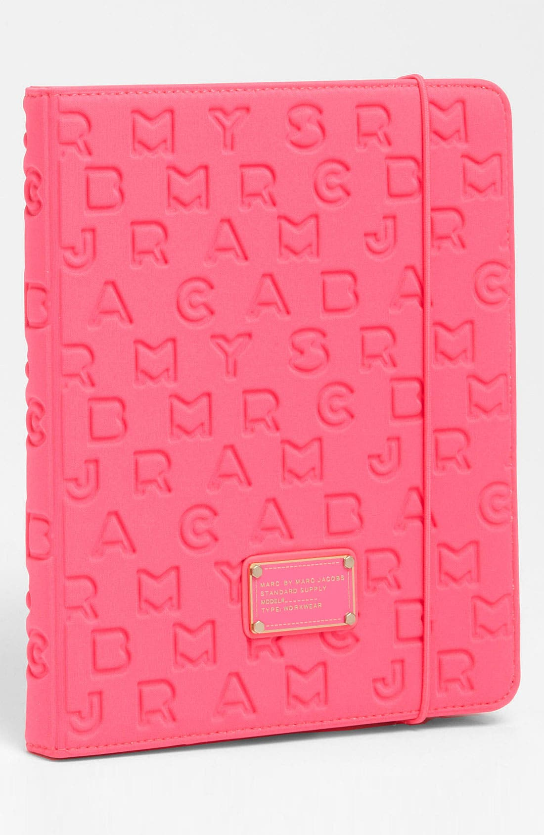 Alternate Image 1 Selected - MARC BY MARC JACOBS 'Dreamy Logo' iPad Case