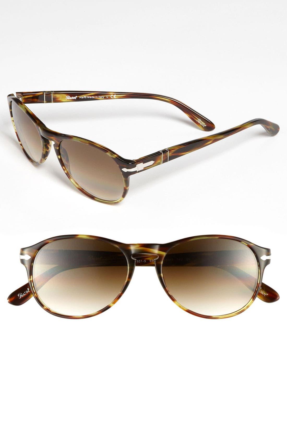 Main Image - Persol 55m Aviator Sunglasses