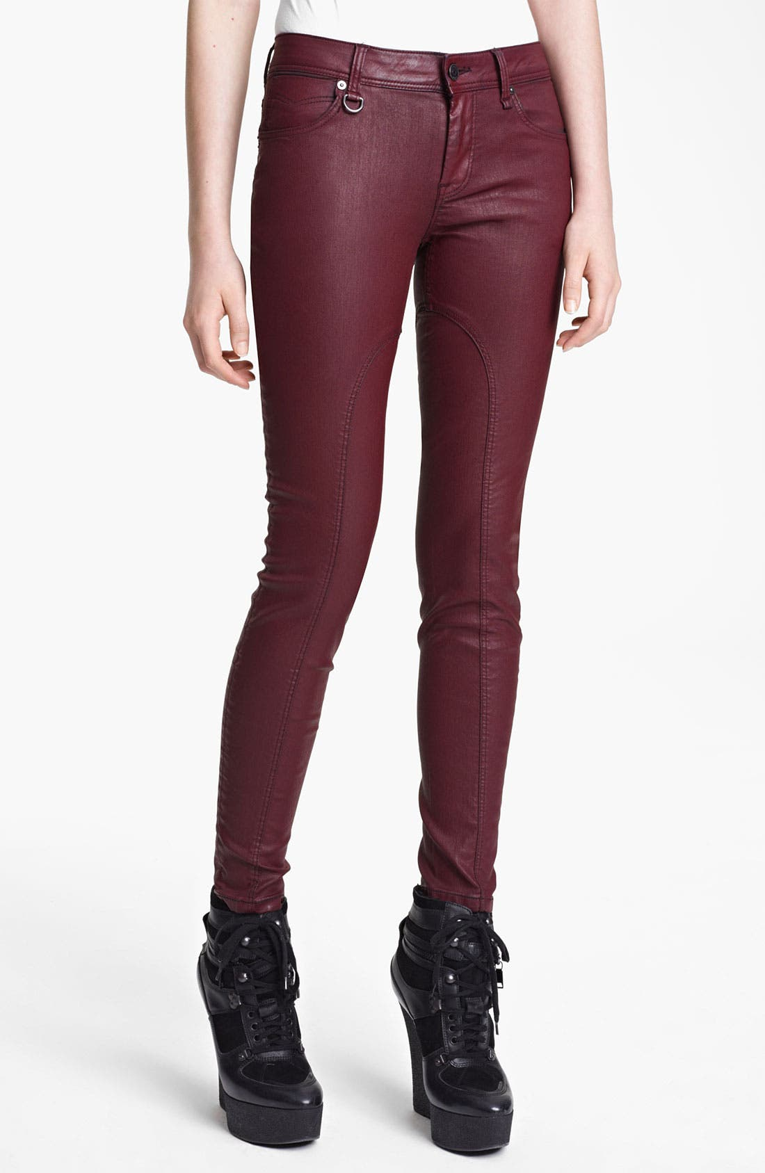 Alternate Image 1 Selected - Burberry Brit Skinny Leg Pants