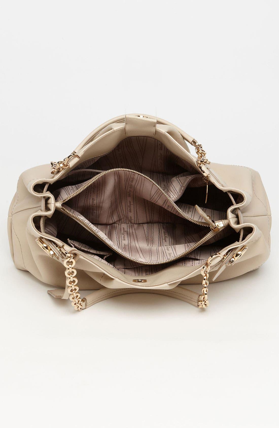 Alternate Image 3  - Salvatore Ferragamo 'Lineage' Leather Tote