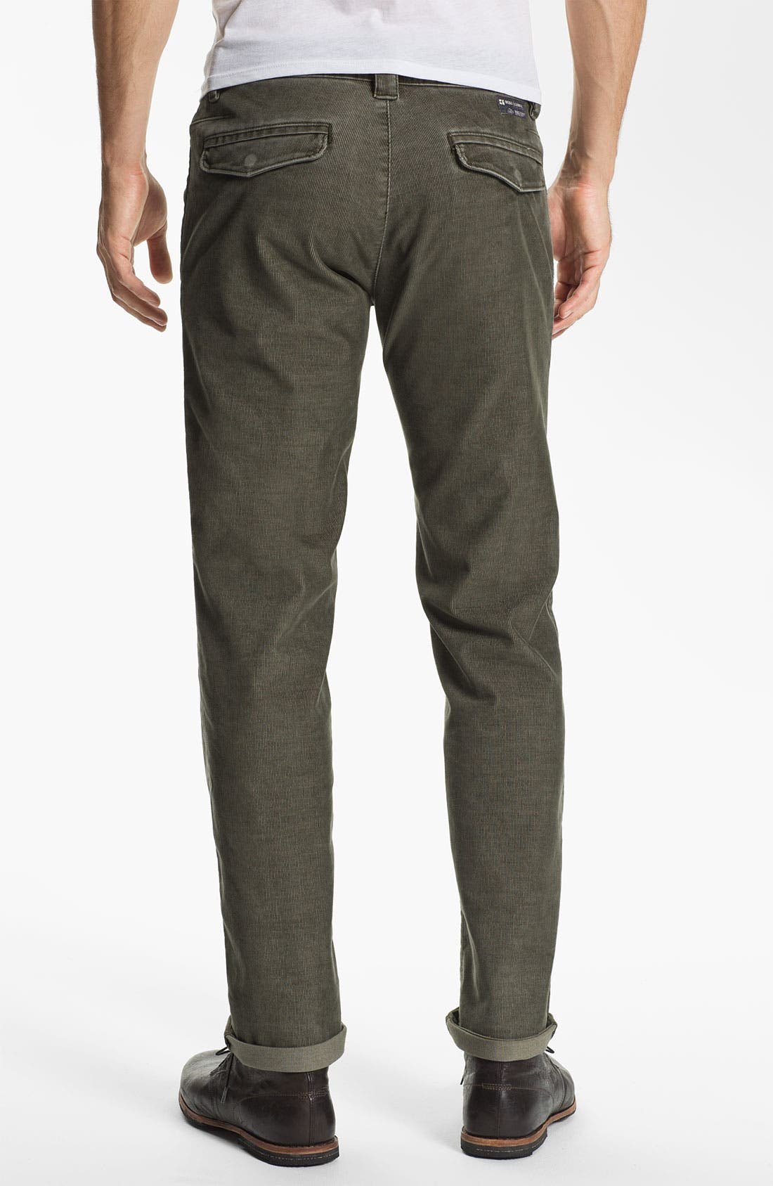 Alternate Image 2  - BOSS Orange Slim Fit Corduroy Pants