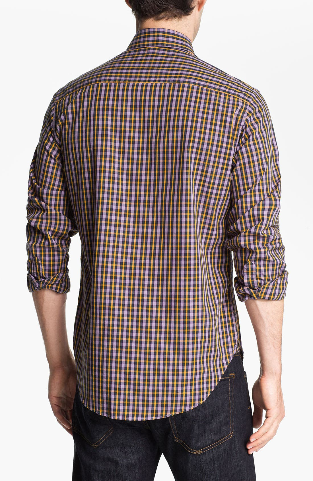 Alternate Image 2  - Khaki Surplus Trim Fit Sport Shirt