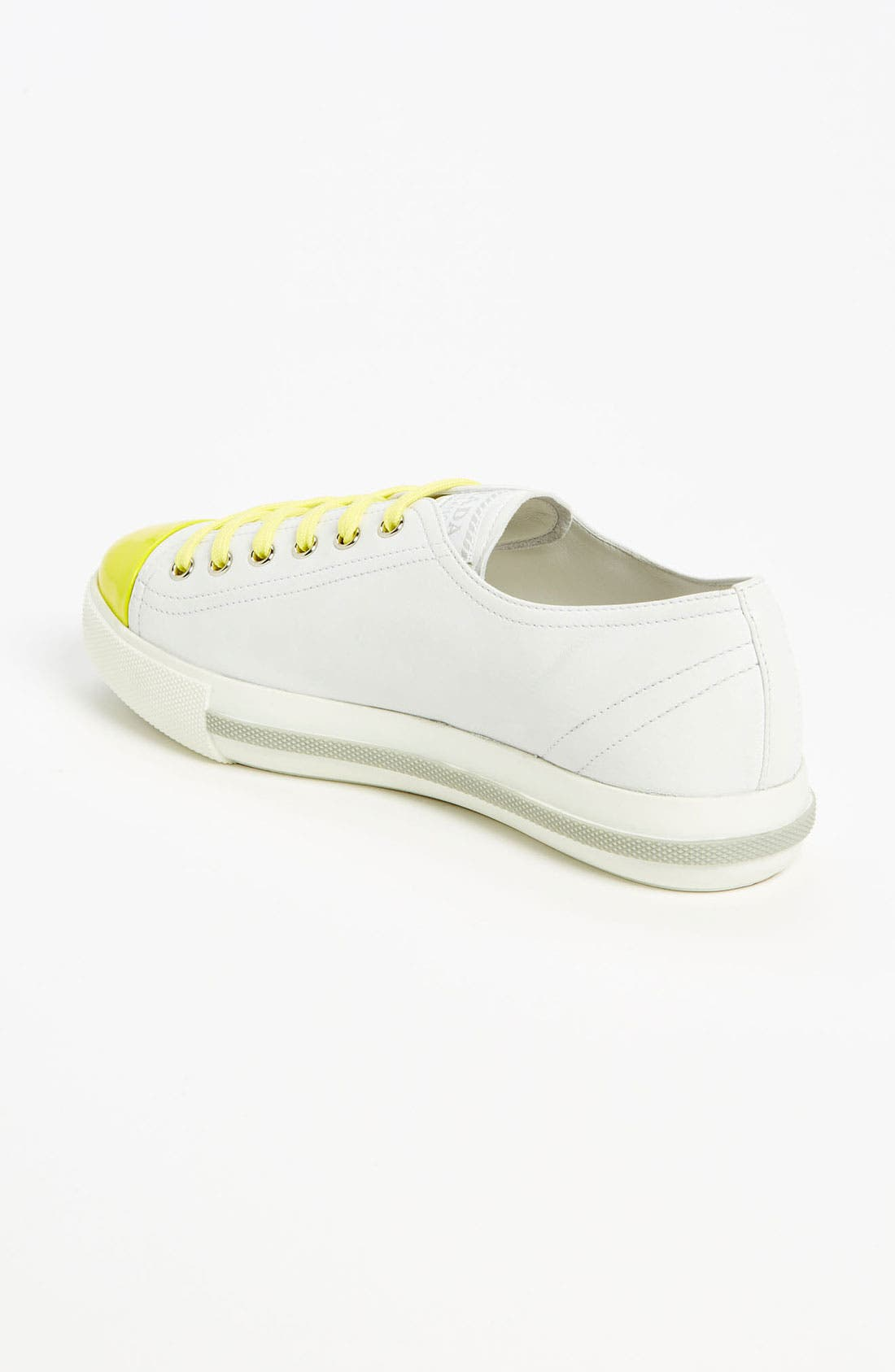 Alternate Image 2  - Prada Cap Toe Sneaker