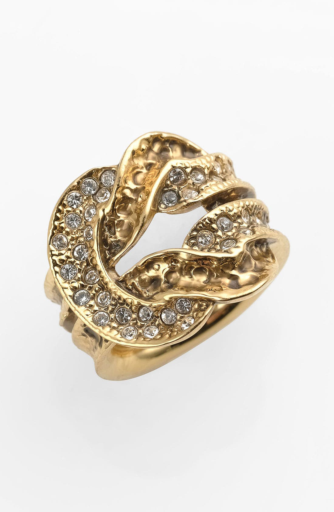 Alternate Image 1 Selected - St. John Collection Antique Gold Knot Ring