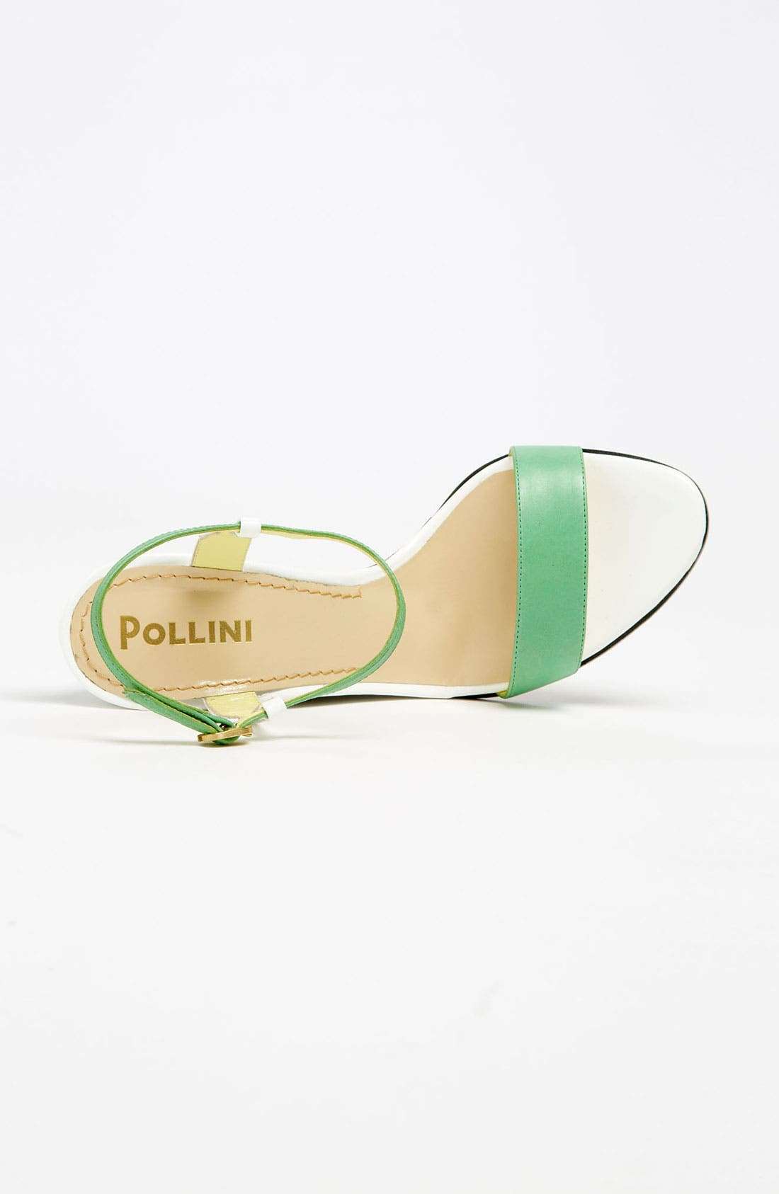 Alternate Image 3  - Pollini Open Toe Wedge