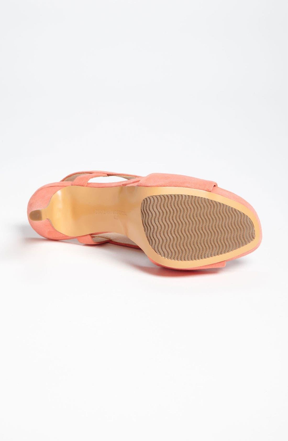 Alternate Image 4  - Diane von Furstenberg 'Zia II' Sandal
