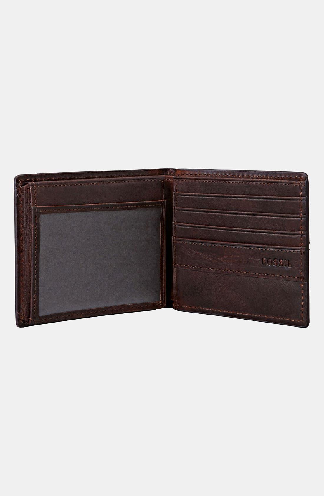 Alternate Image 2  - Fossil 'Dillon' Traveler Wallet
