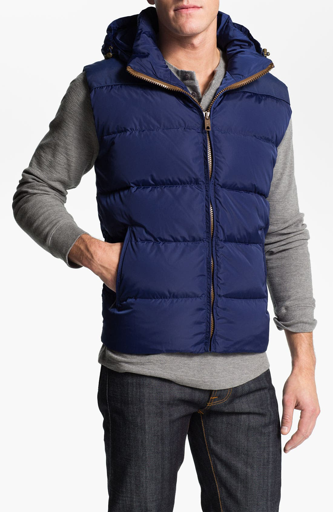 Alternate Image 1 Selected - Scotch & Soda Quilted Vest