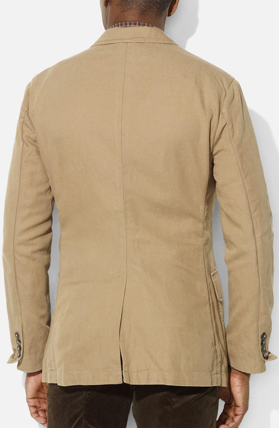 Alternate Image 2  - Polo Ralph Lauren Cotton & Linen Sportcoat