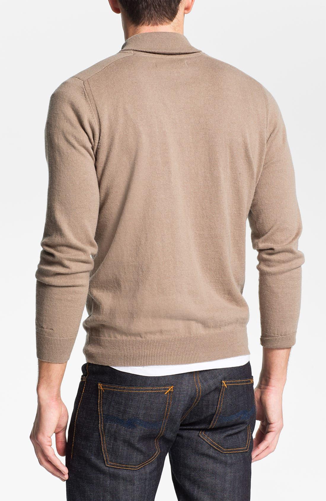 Alternate Image 2  - Ben Sherman Shawl Collar Sweater