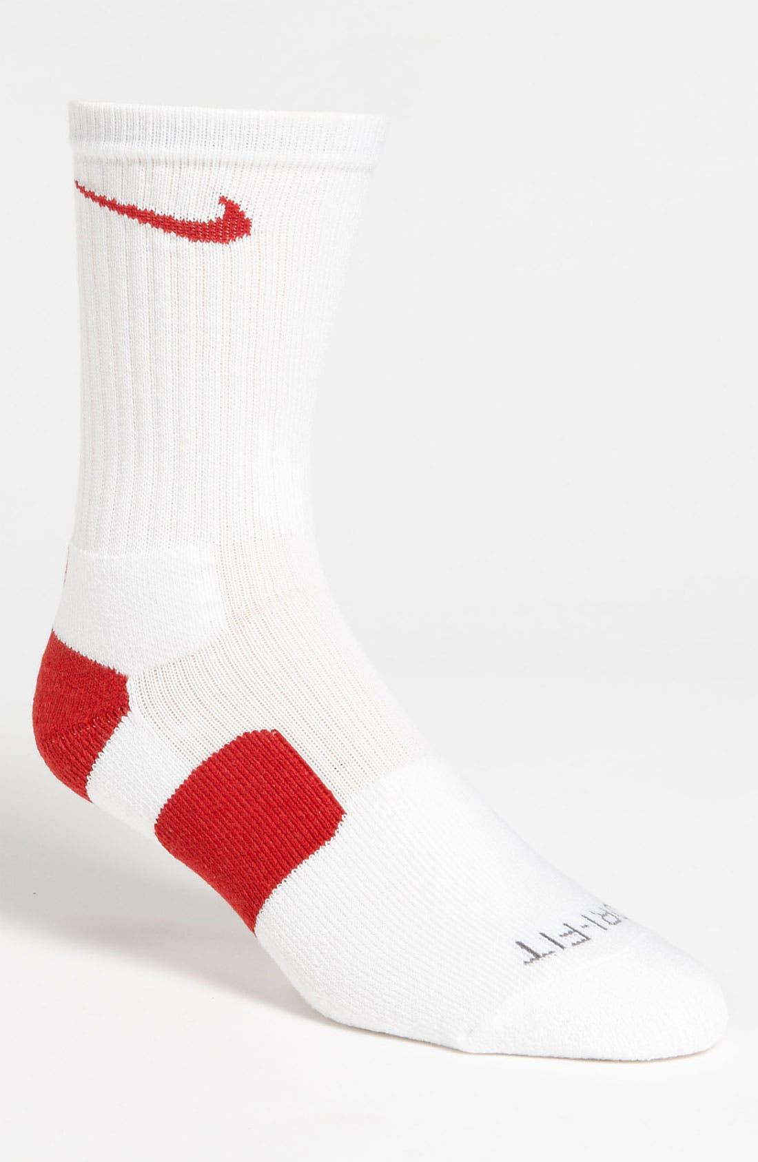 Alternate Image 1 Selected - Nike 'Elite Basketball' Crew Socks
