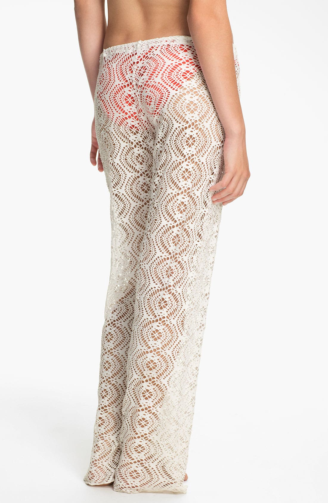 Alternate Image 2  - Becca Crochet Cover-Up Pants