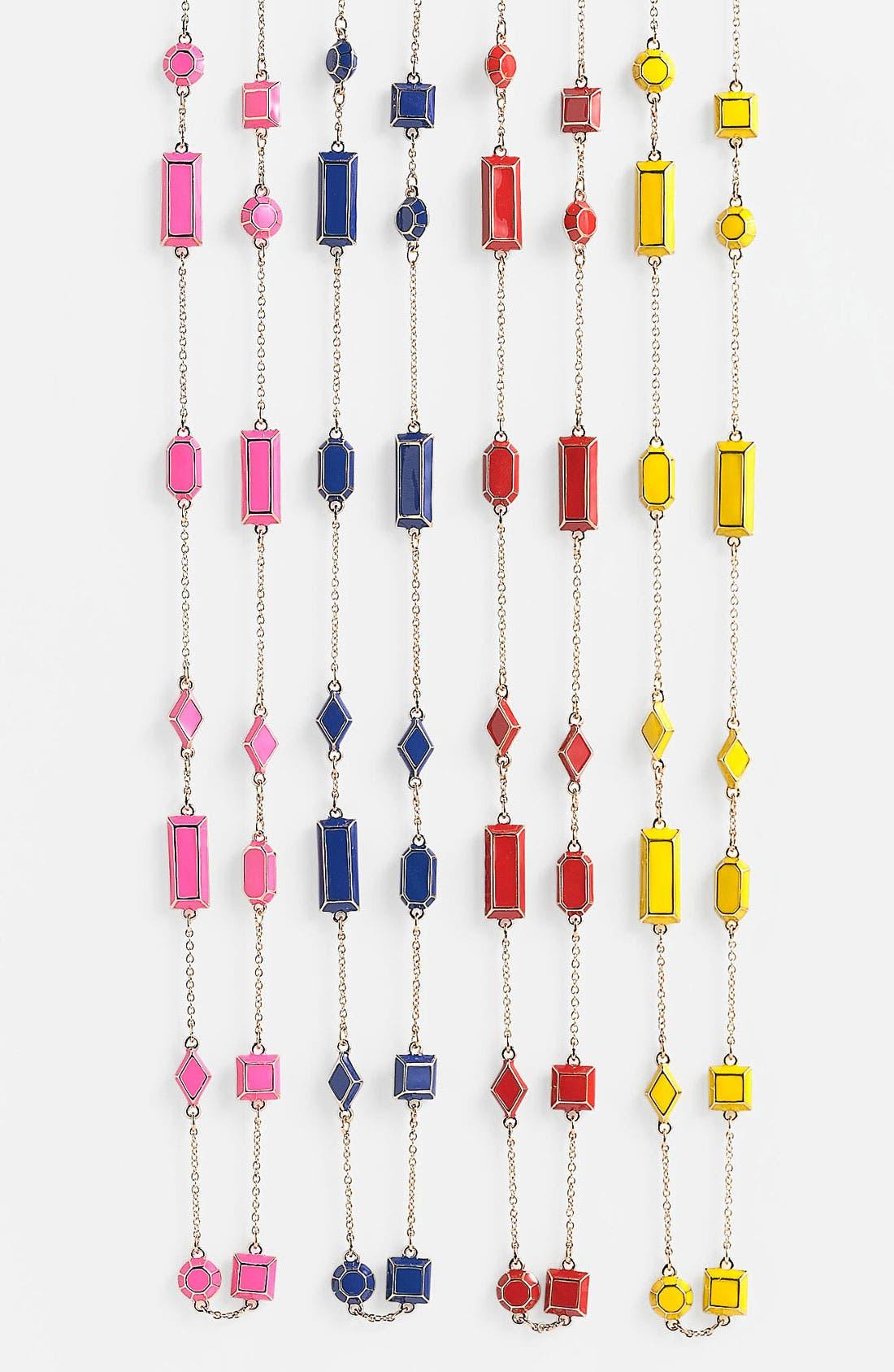 Alternate Image 1 Selected - kate spade new york 'jewelbar' long station necklace