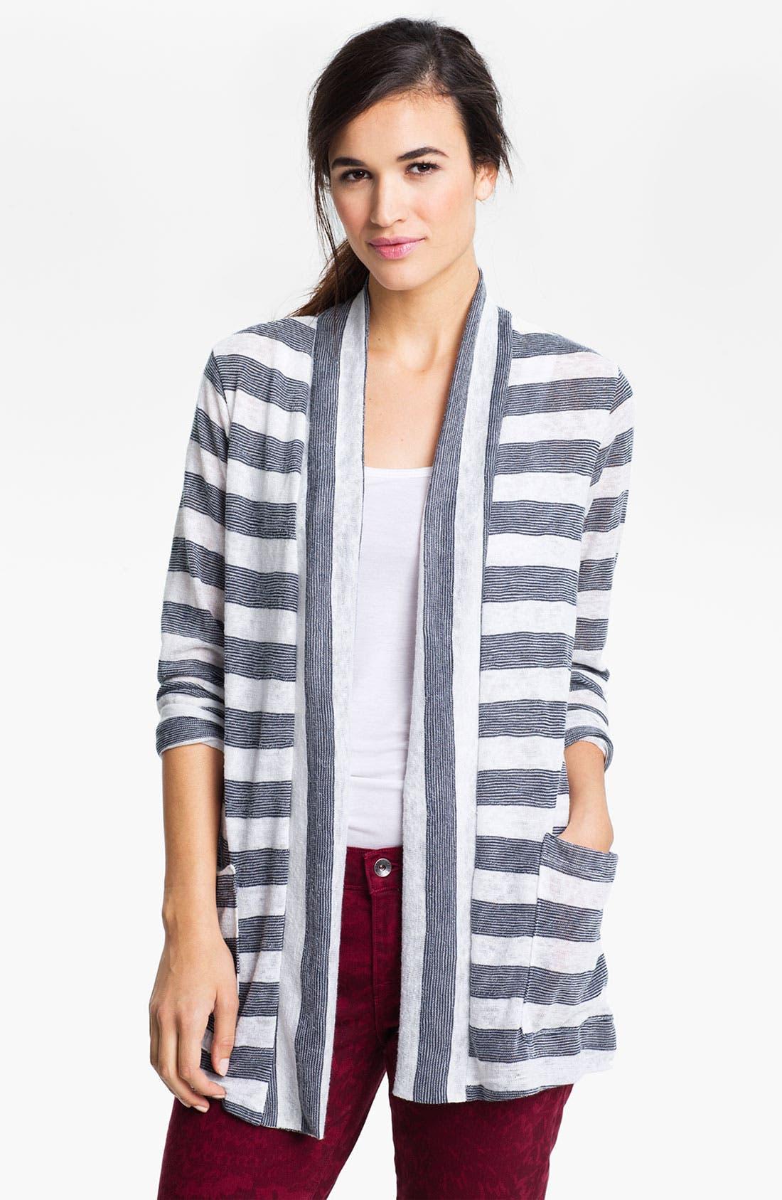 Alternate Image 1 Selected - MOD.lusive Stripe Cardigan