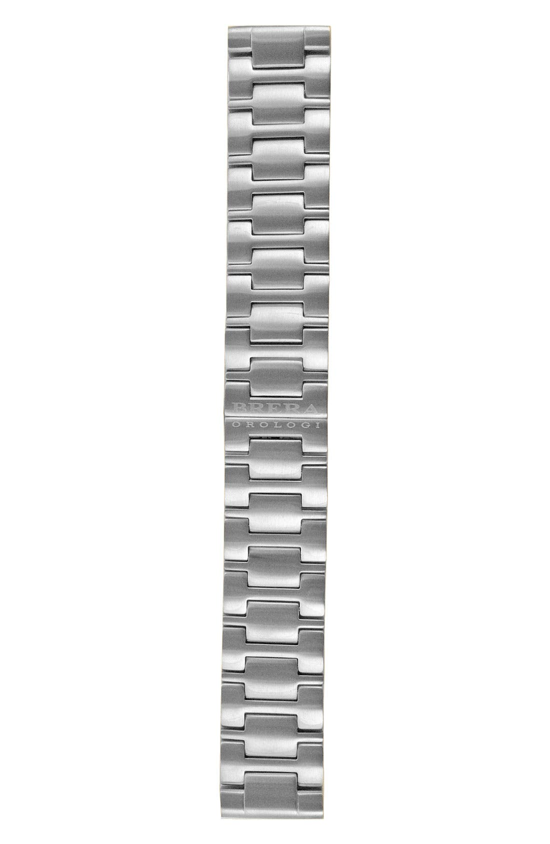 Alternate Image 1 Selected - Brera 'Francesca - Eterno Piccolo' 22mm Stainless Steel Watch Bracelet