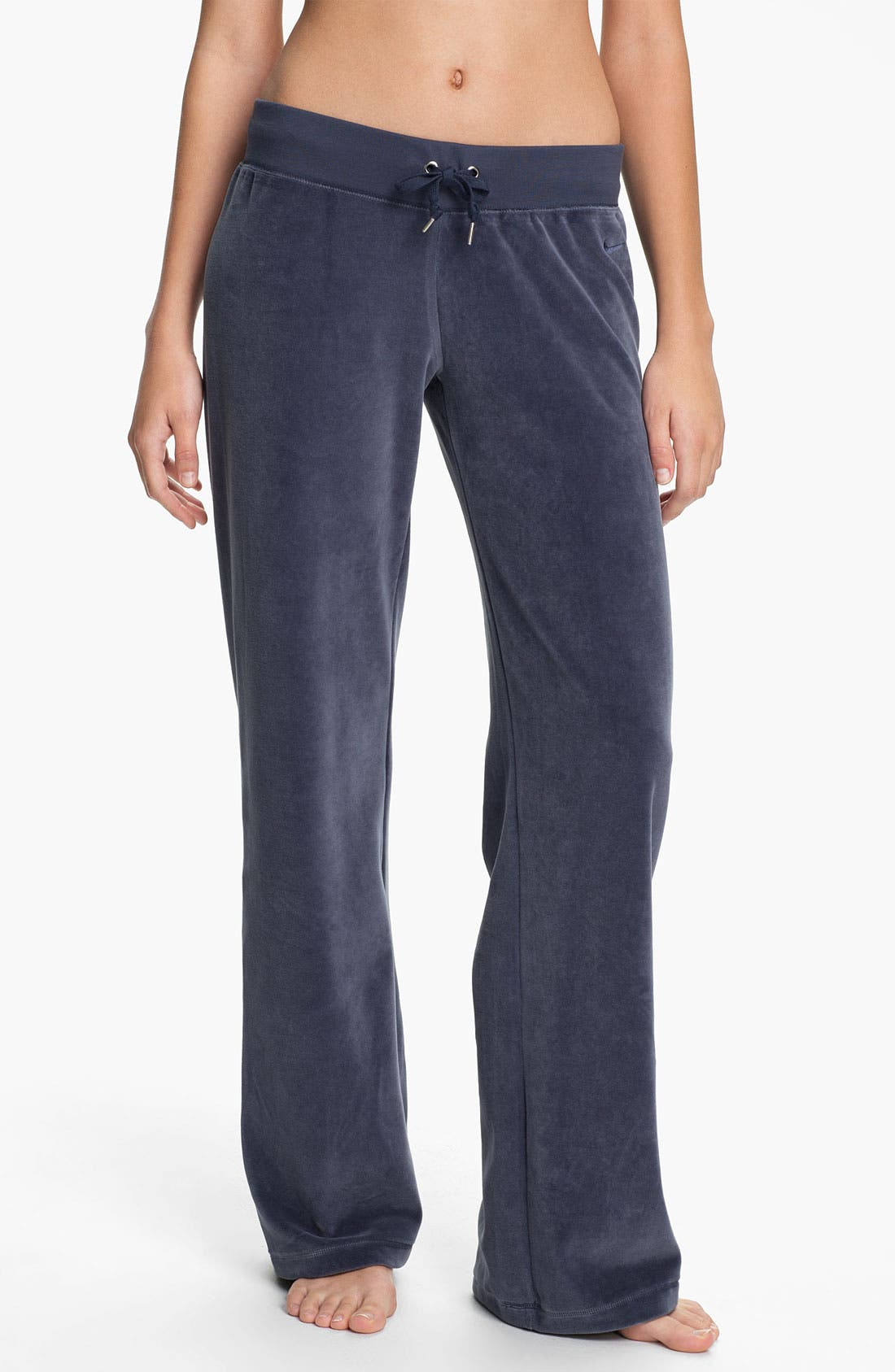 Alternate Image 1 Selected - Nike 'Oh' Velour Pants