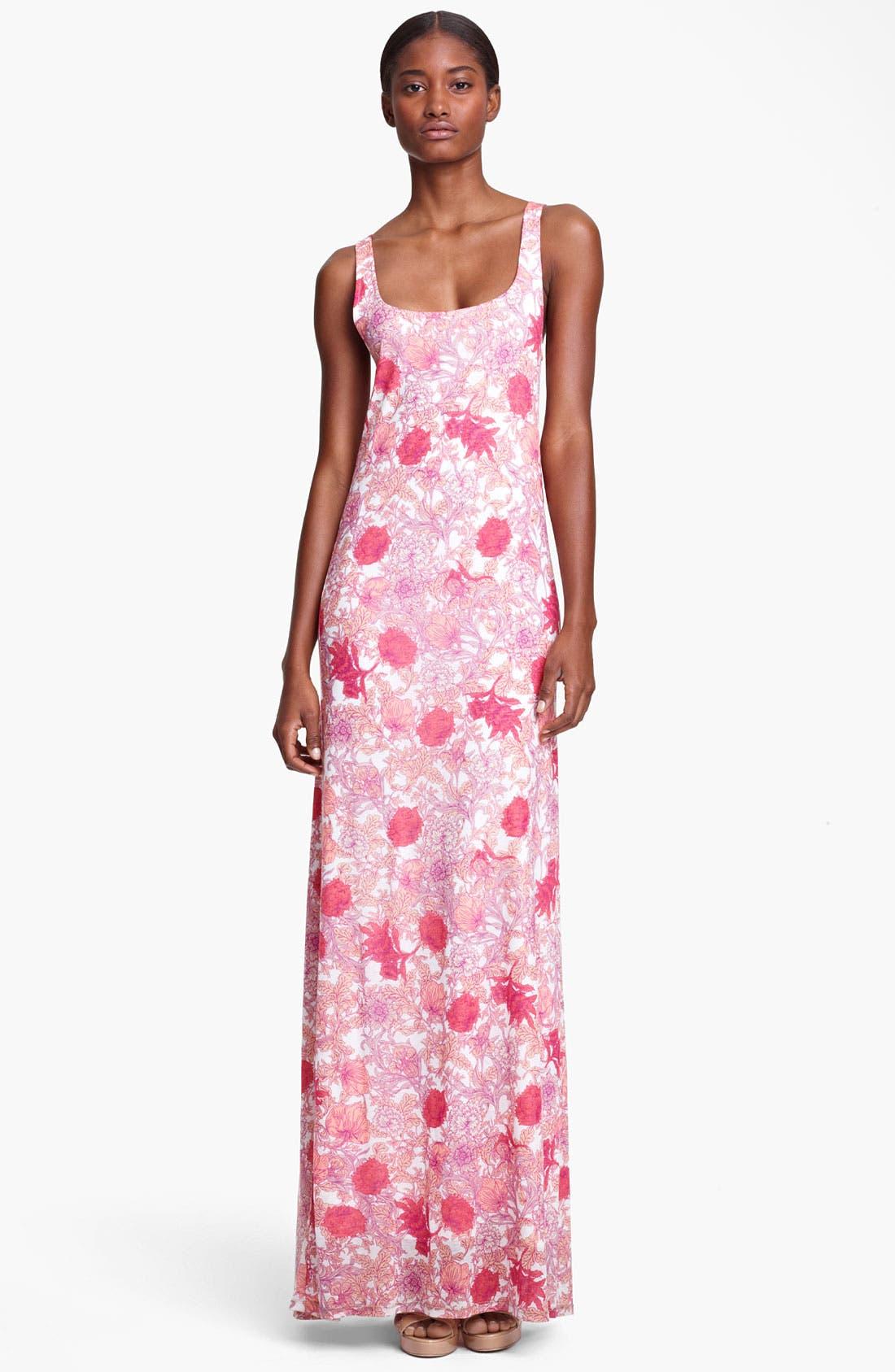 Main Image - Thakoon Floral Print Jersey Maxi Dress