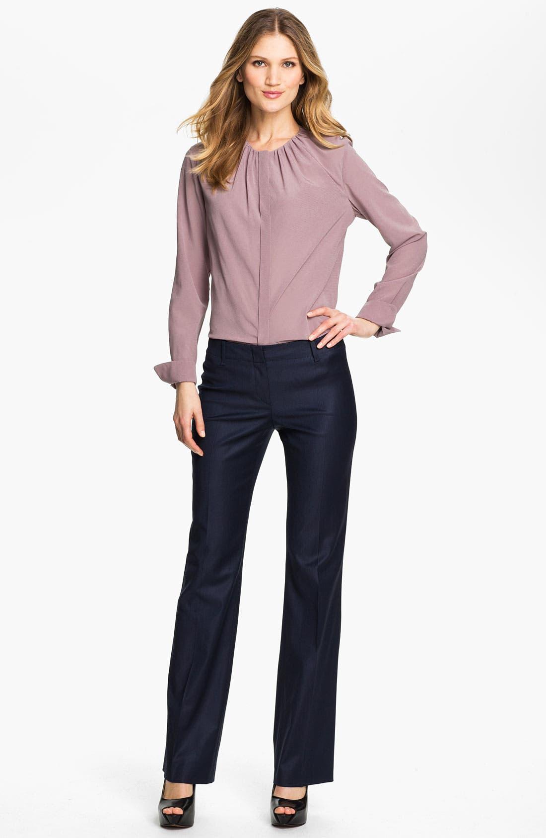 Alternate Image 4  - BOSS Black 'Tulia' Trousers