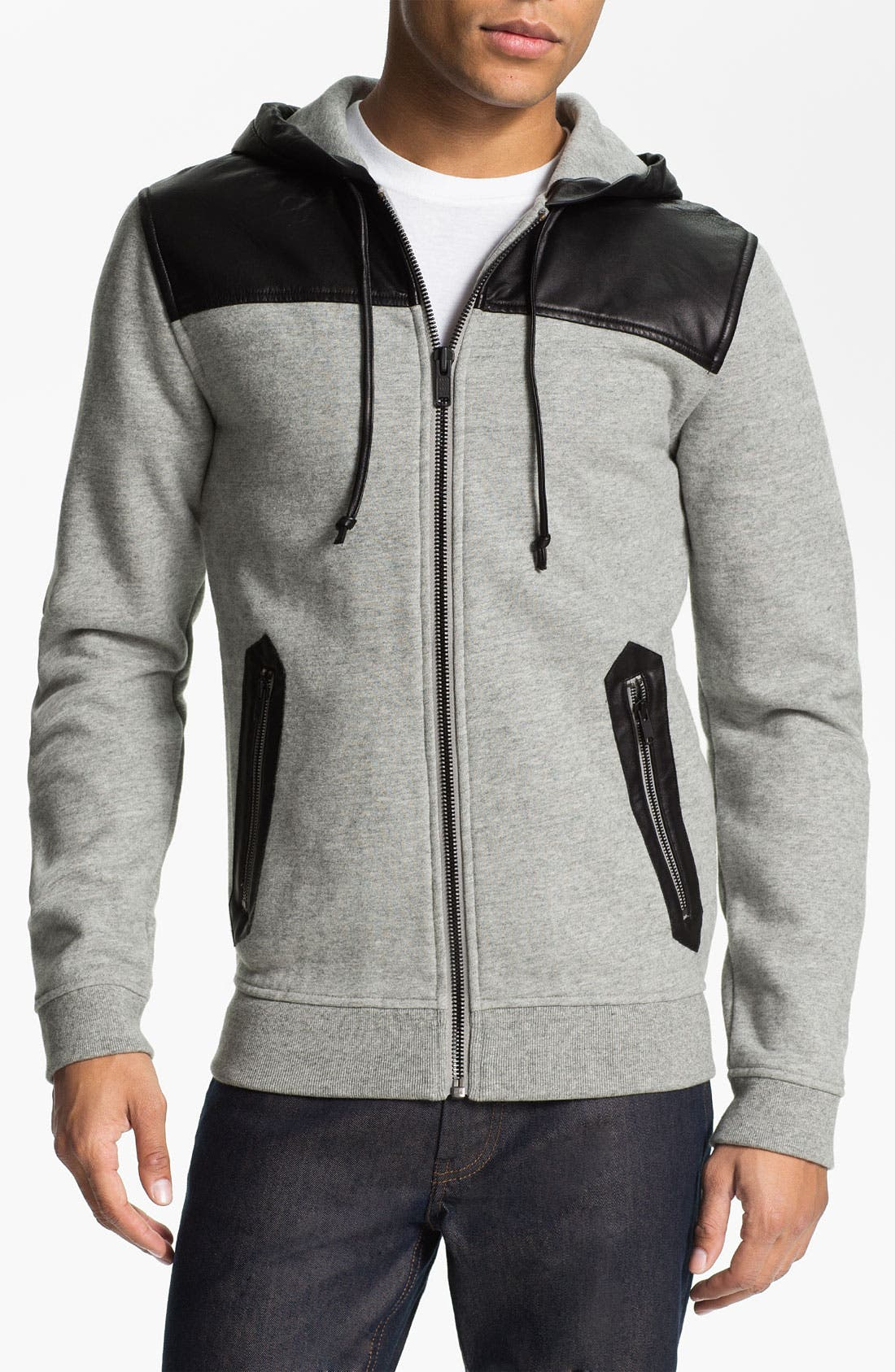 Alternate Image 1 Selected - MARC BY MARC JACOBS 'Thompson' Zip Hoodie