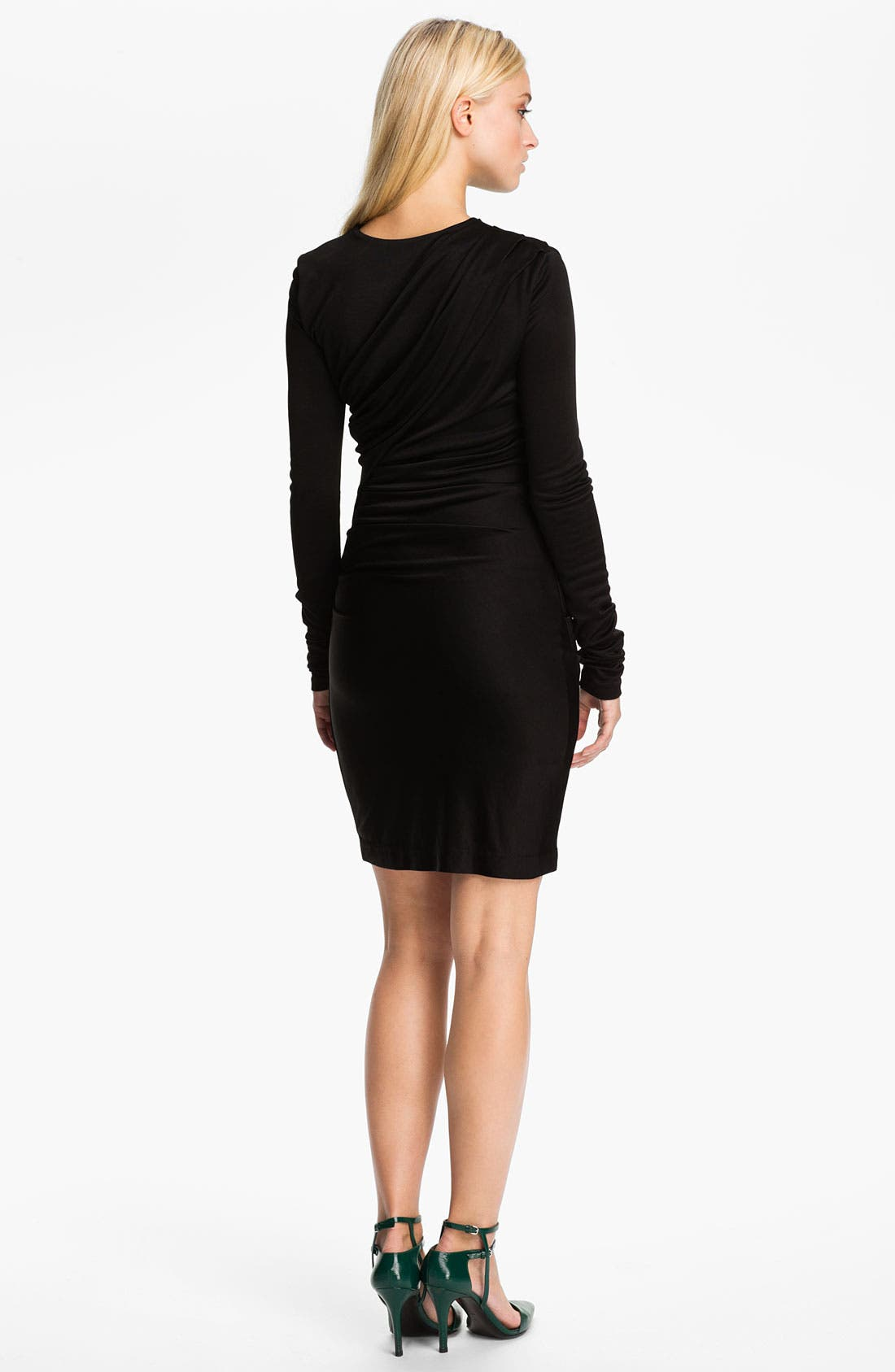 Alternate Image 2  - T by Alexander Wang Piqué Double Knit Dress