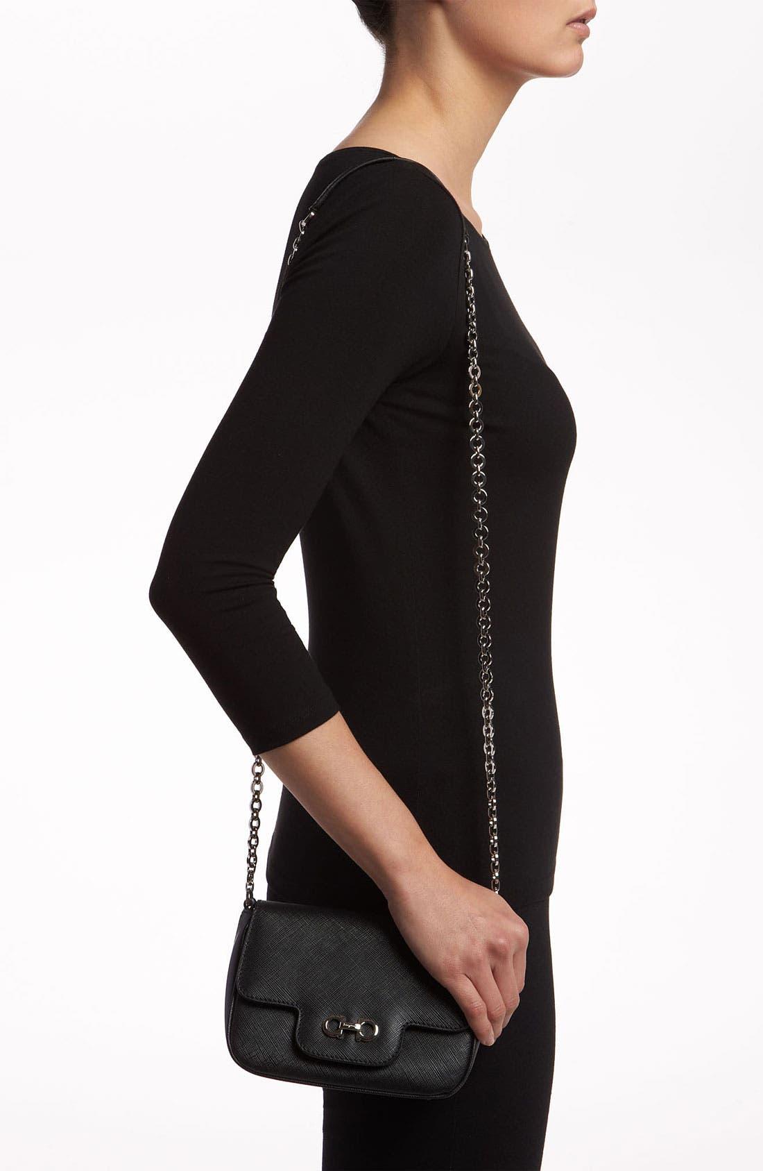 Alternate Image 2  - Salvatore Ferragamo 'Fancy' Leather Shoulder Bag