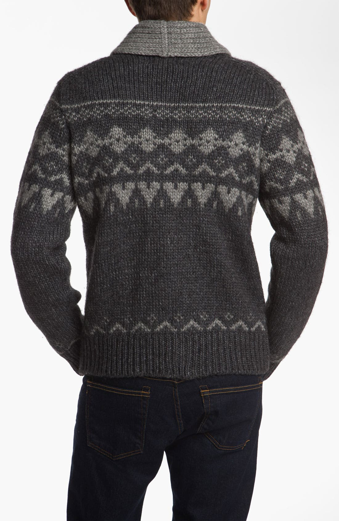 Alternate Image 2  - Woolrich John Rich 'Trapper Peak' Shawl Collar Cardigan