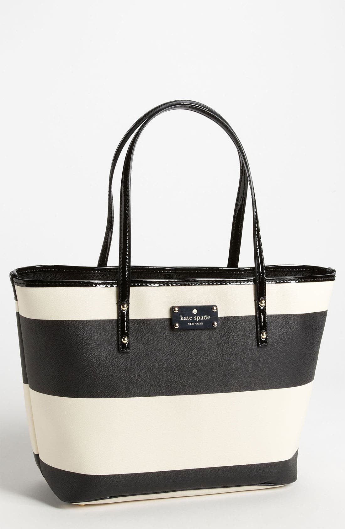 Main Image - kate spade new york 'boutique stripe - small harmony' tote