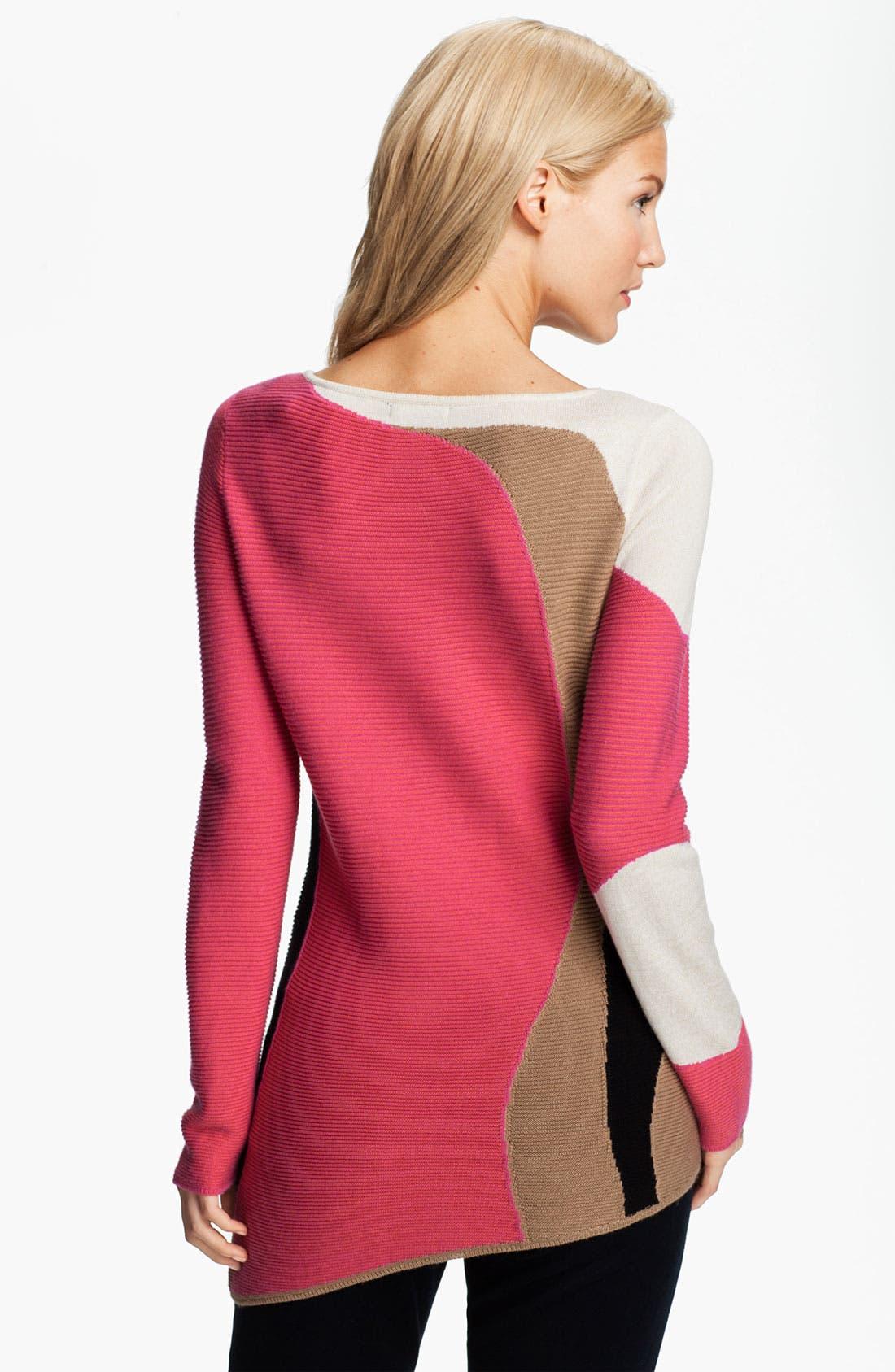 Alternate Image 2  - Nic + Zoe 'Graphic Tides' Sweater