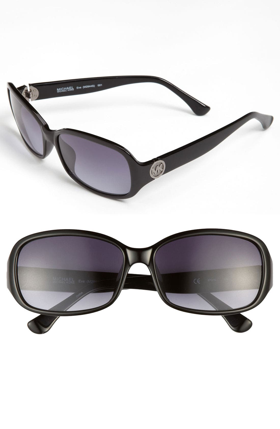 Alternate Image 1 Selected - MICHAEL Michael Kors 'Basic' 57mm Sunglasses
