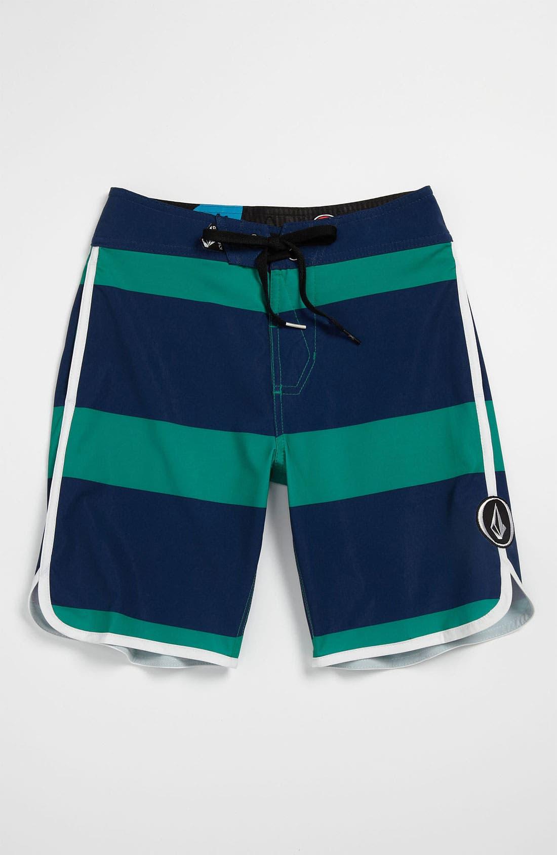 Main Image - Volcom 'Scallop' Board Shorts (Big Boys)
