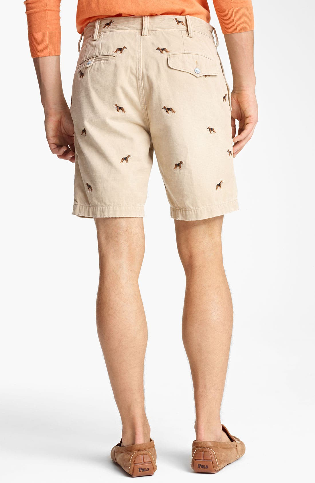 Alternate Image 2  - Polo Ralph Lauren 'Maritime Beagle' Chino Shorts
