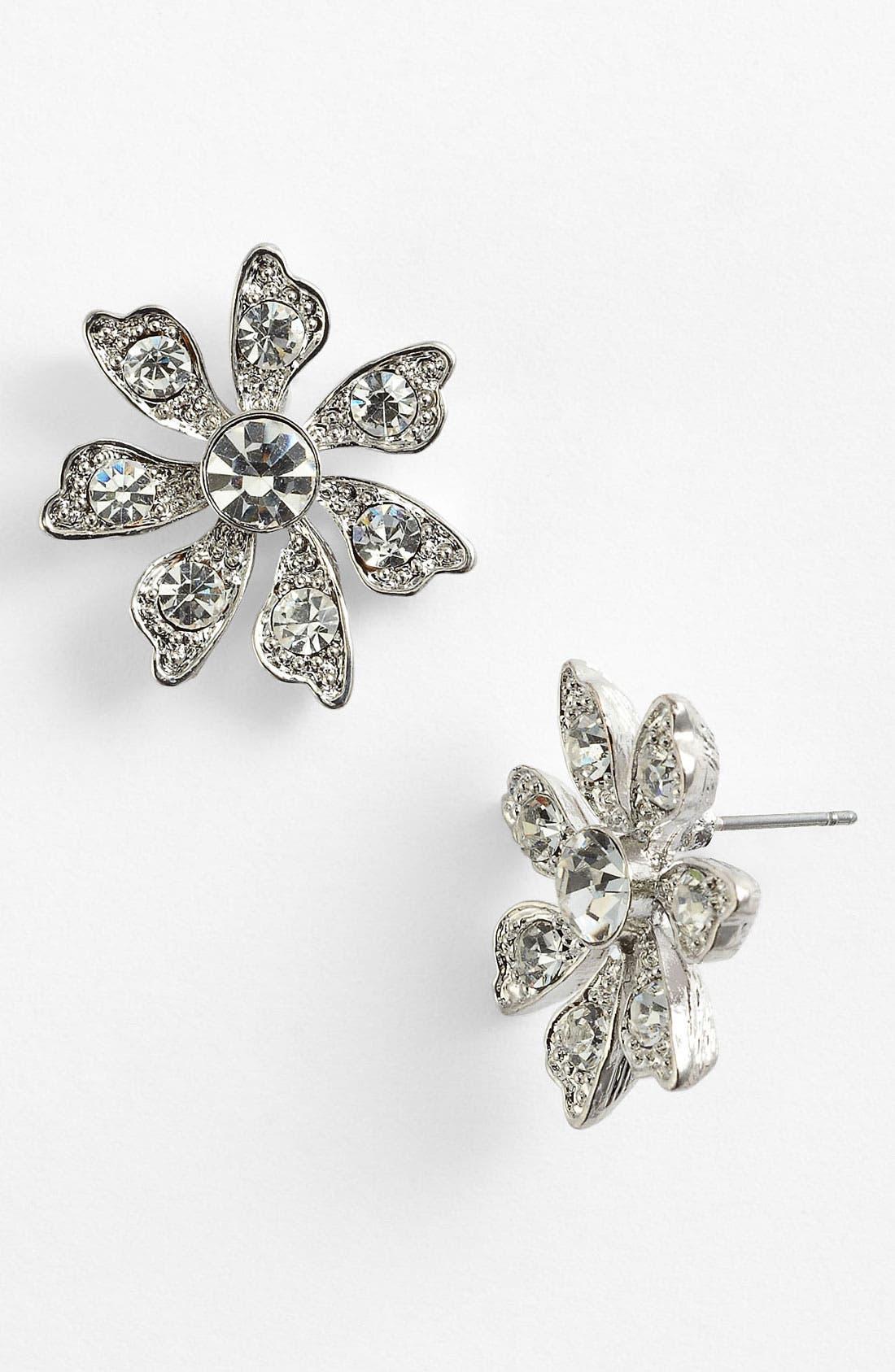Alternate Image 1 Selected - Nina 'Hydee' Flower Stud Earrings