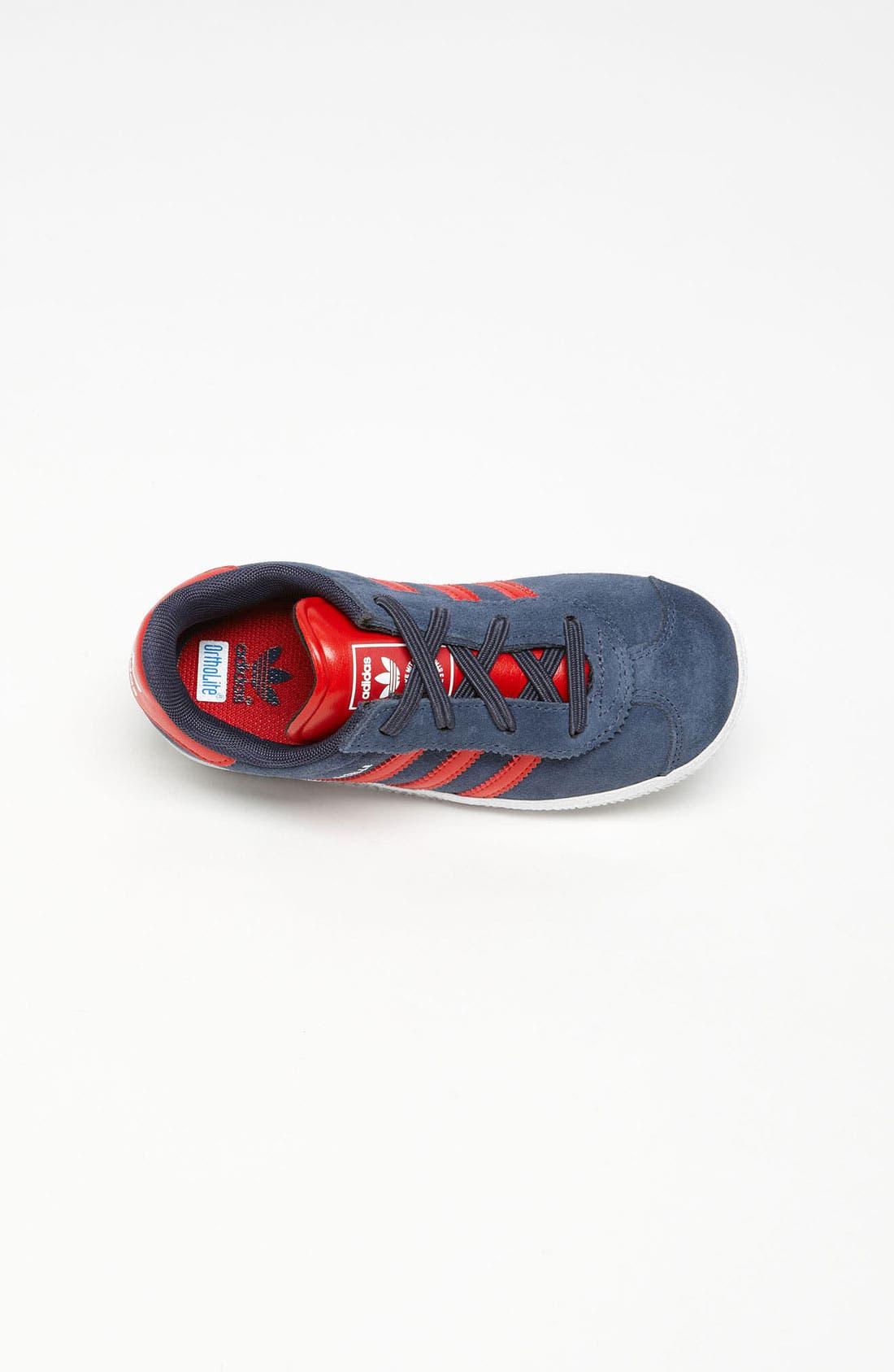 Alternate Image 3  - adidas 'Gazelle 2' Sneaker (Baby, Walker & Toddler)