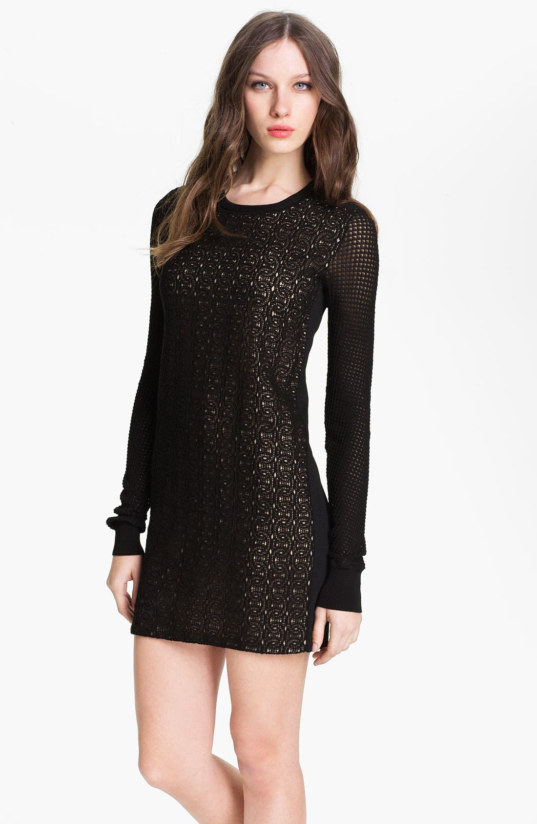 Alternate Image 1 Selected - Diane von Furstenberg 'Linot Bis' Lace Shift Dress