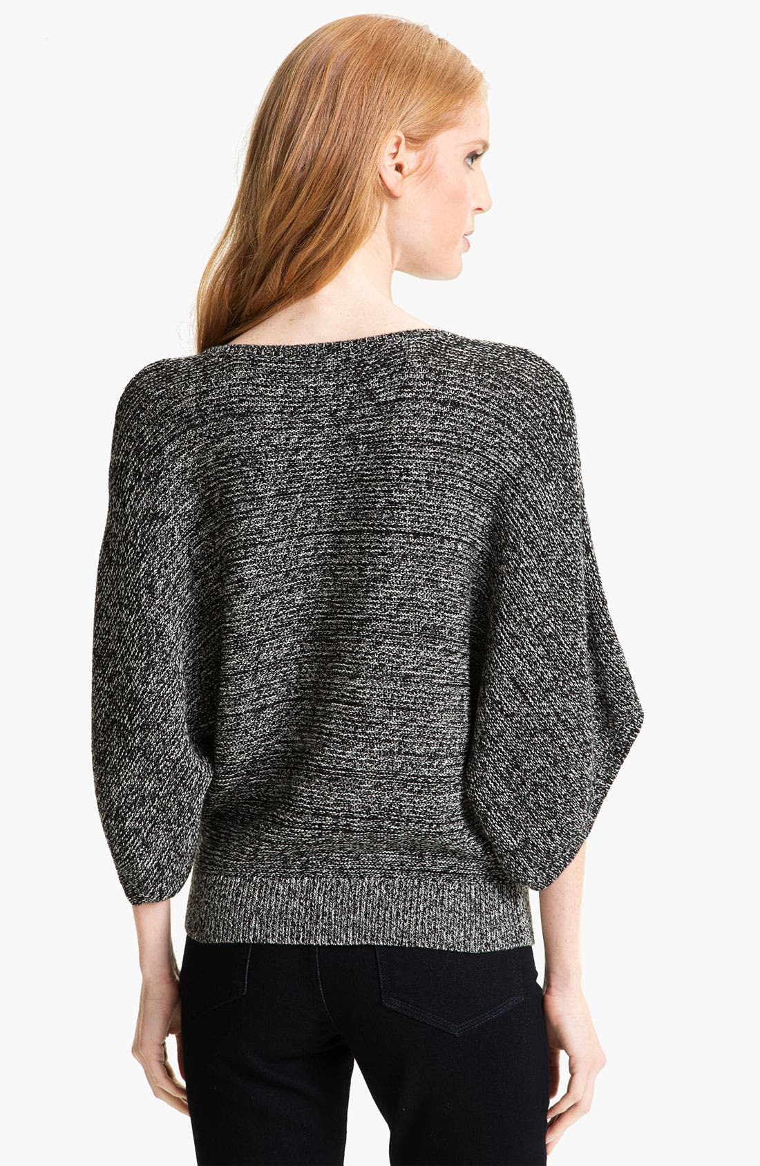 Alternate Image 2  - Chaus Marled Bateau Neck Sweater