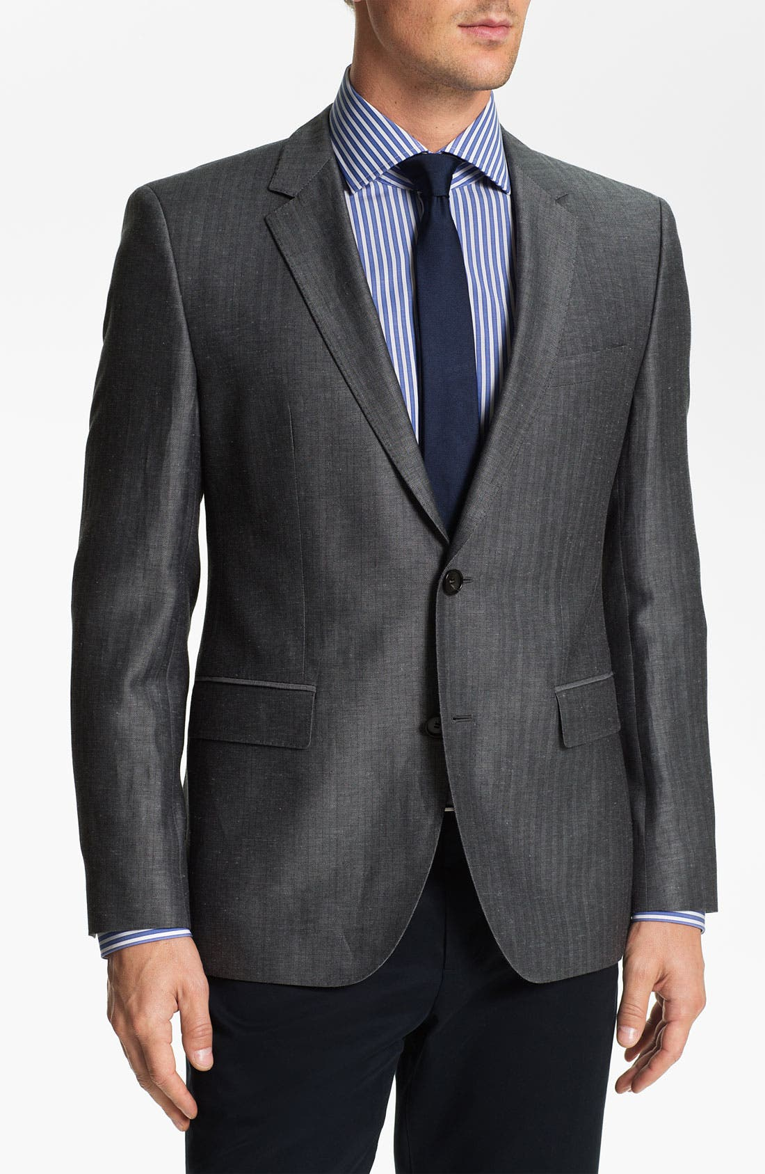 Alternate Image 1 Selected - BOSS Black 'James' Trim Fit Blazer
