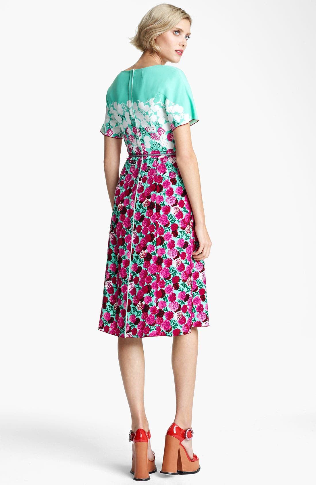 Alternate Image 2  - MARC JACOBS Dégradé Floral Dress