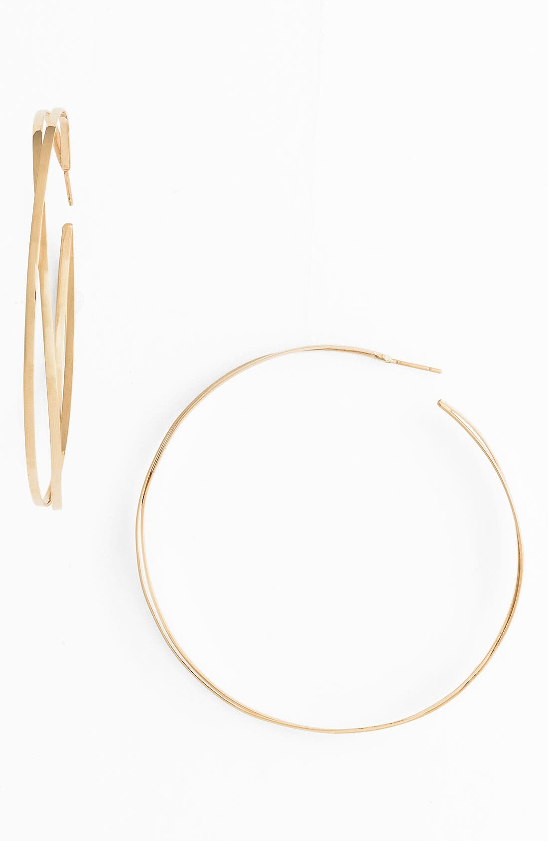 Alternate Image 1 Selected - Lana Jewelry 'Decades' Twisted Hoop Earrings