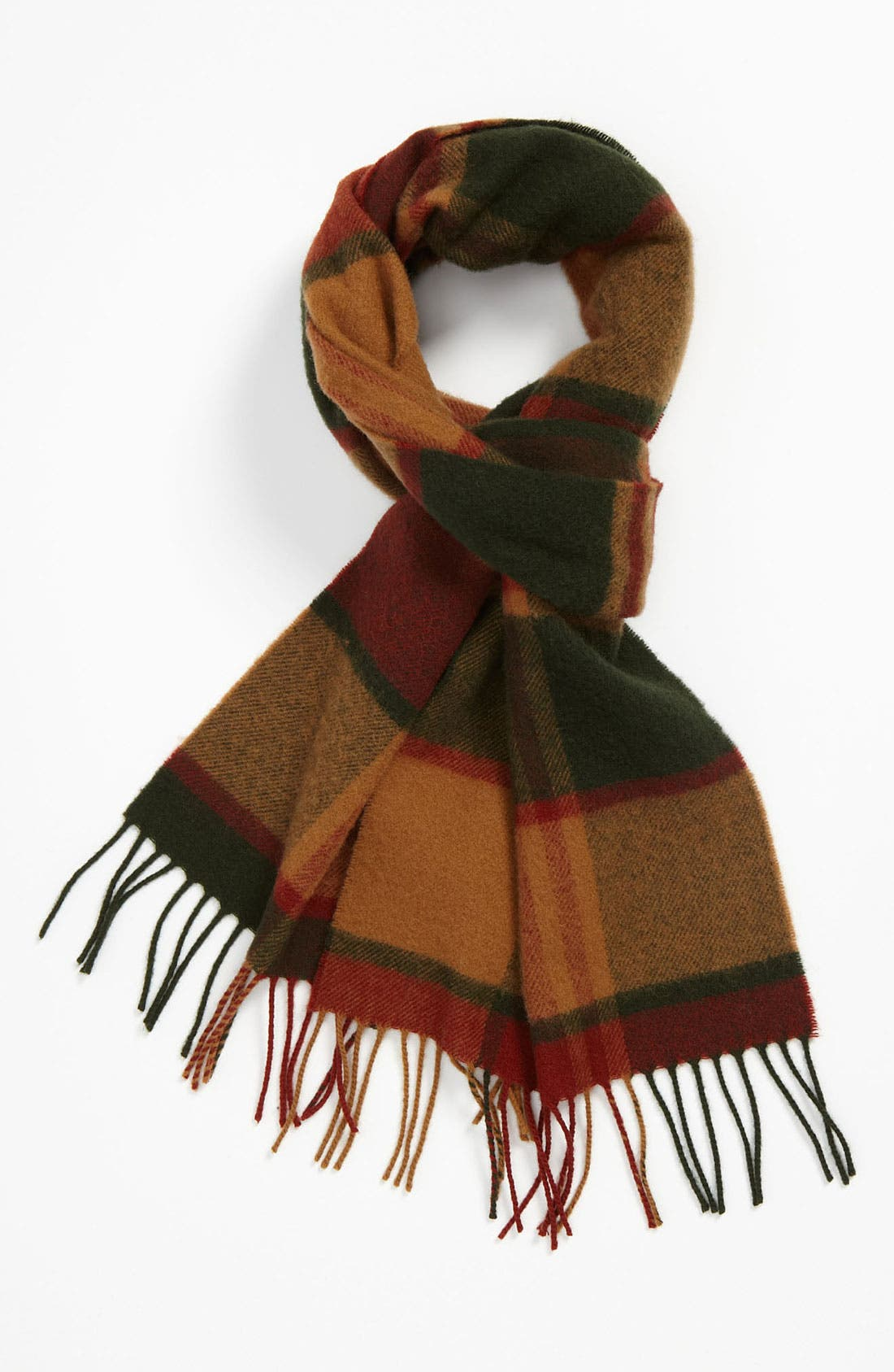 Alternate Image 1 Selected - Brooks Brothers Lambswool Scarf