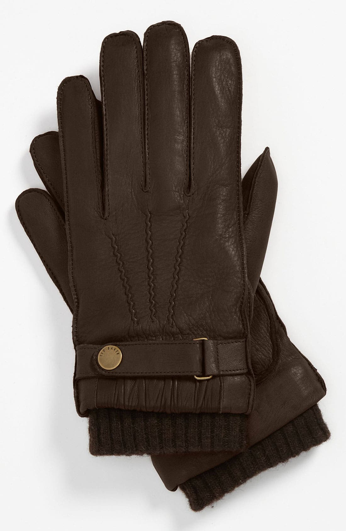 Alternate Image 1 Selected - Ted Baker London Leather Gloves
