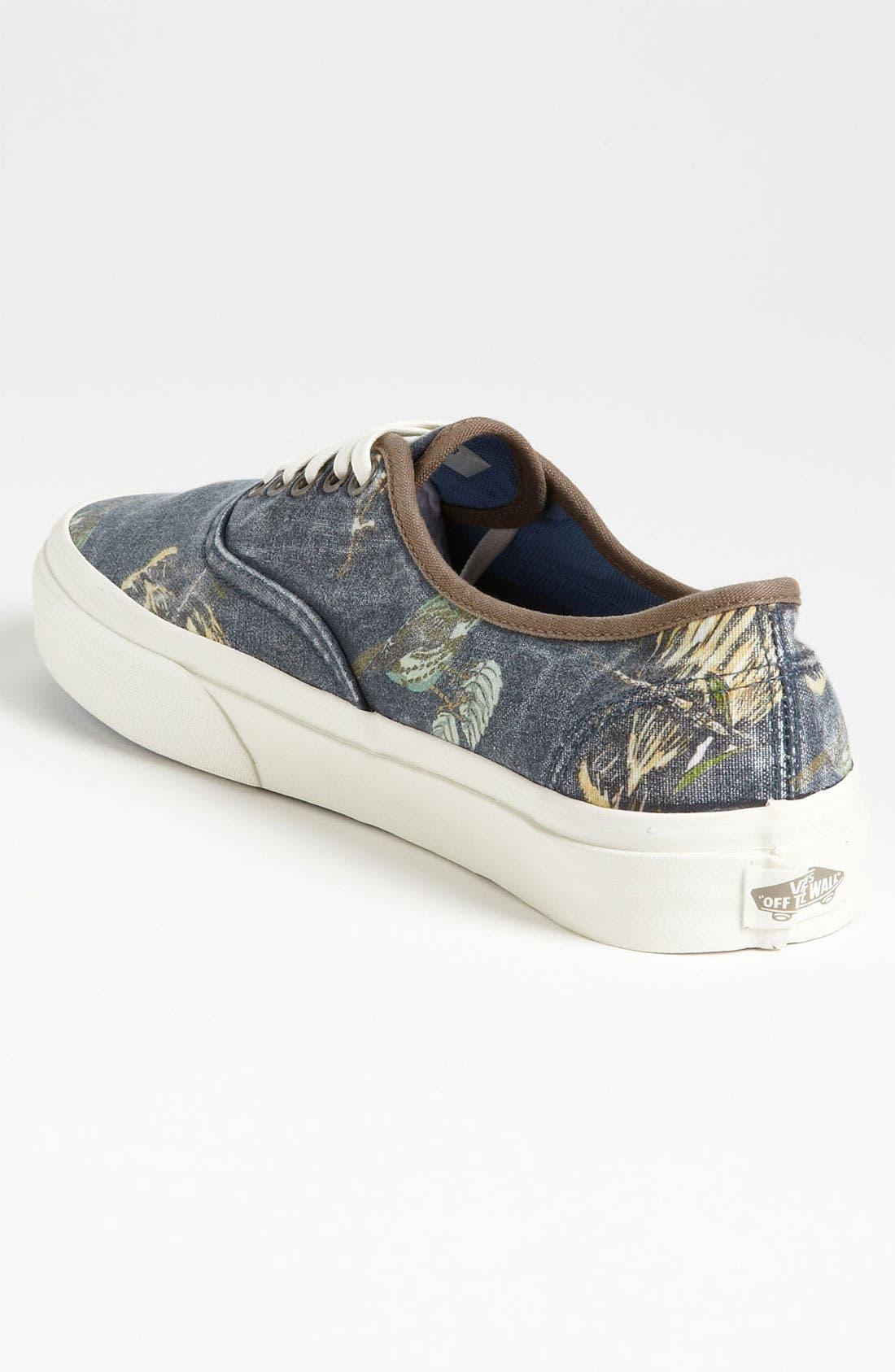 Alternate Image 2  - Vans 'Cali - Authentic' Print Sneaker (Men)