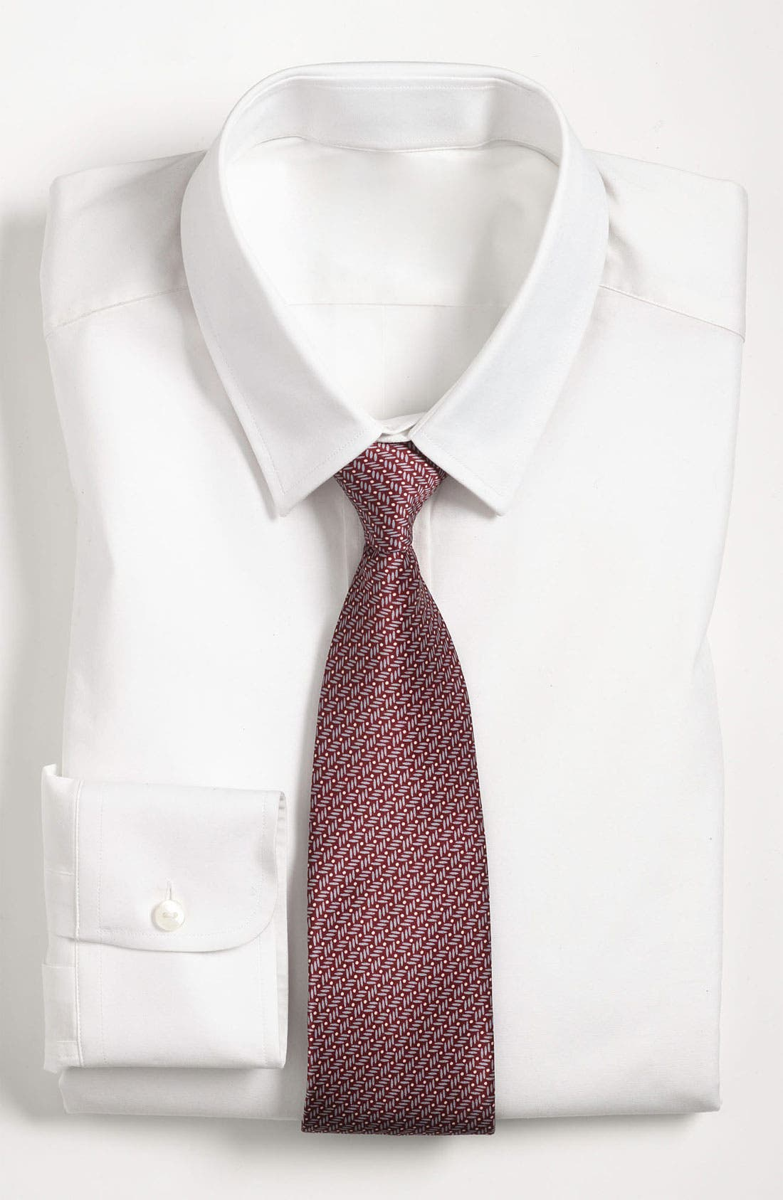 Alternate Image 3  - Yves Saint Laurent Stripes & Dots Silk Woven Tie