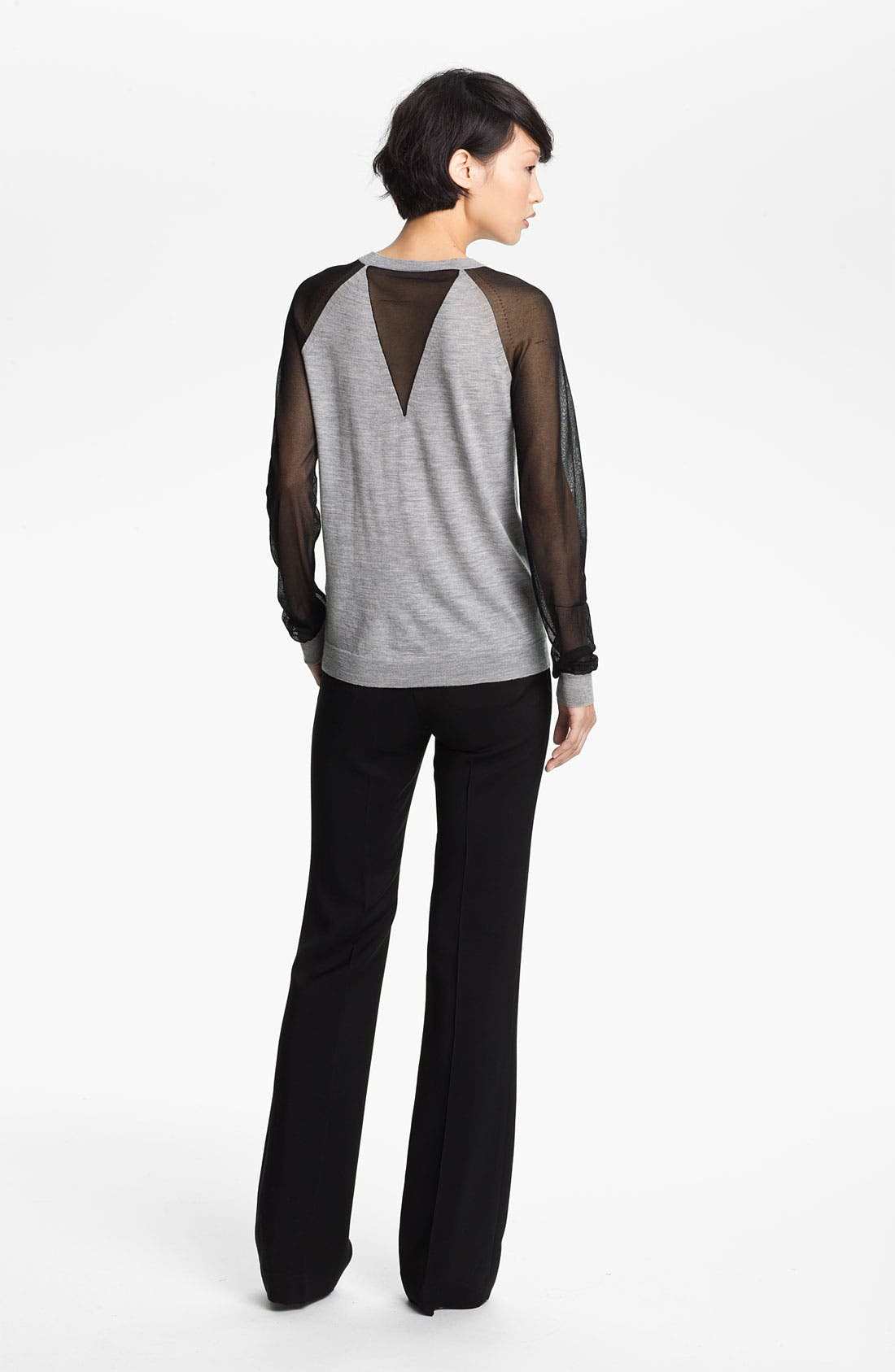 Alternate Image 2  - 3.1 Phillip Lim Sheer Sleeve Pullover