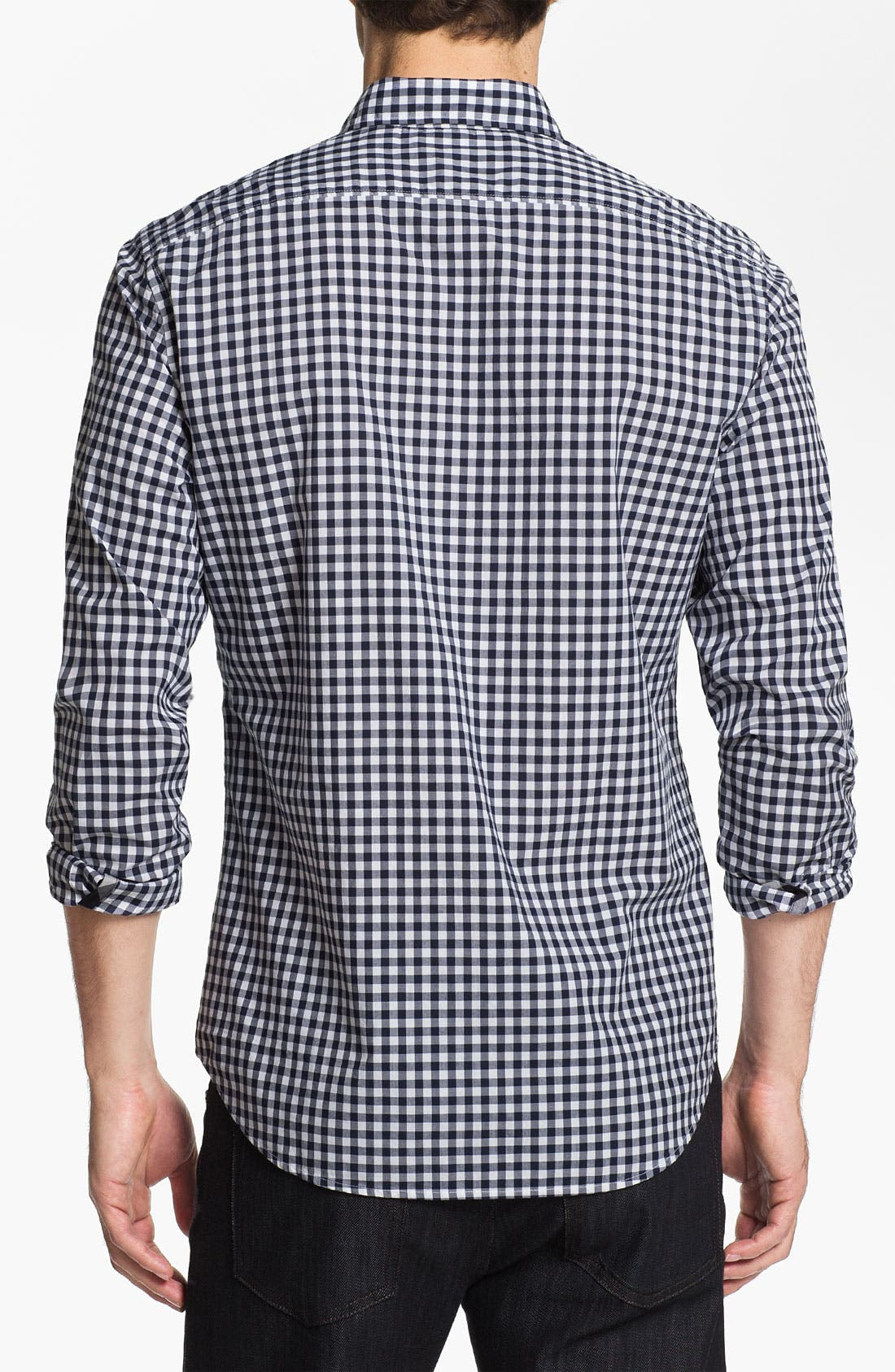 Alternate Image 2  - Burberry Brit Gingham Check Sport Shirt