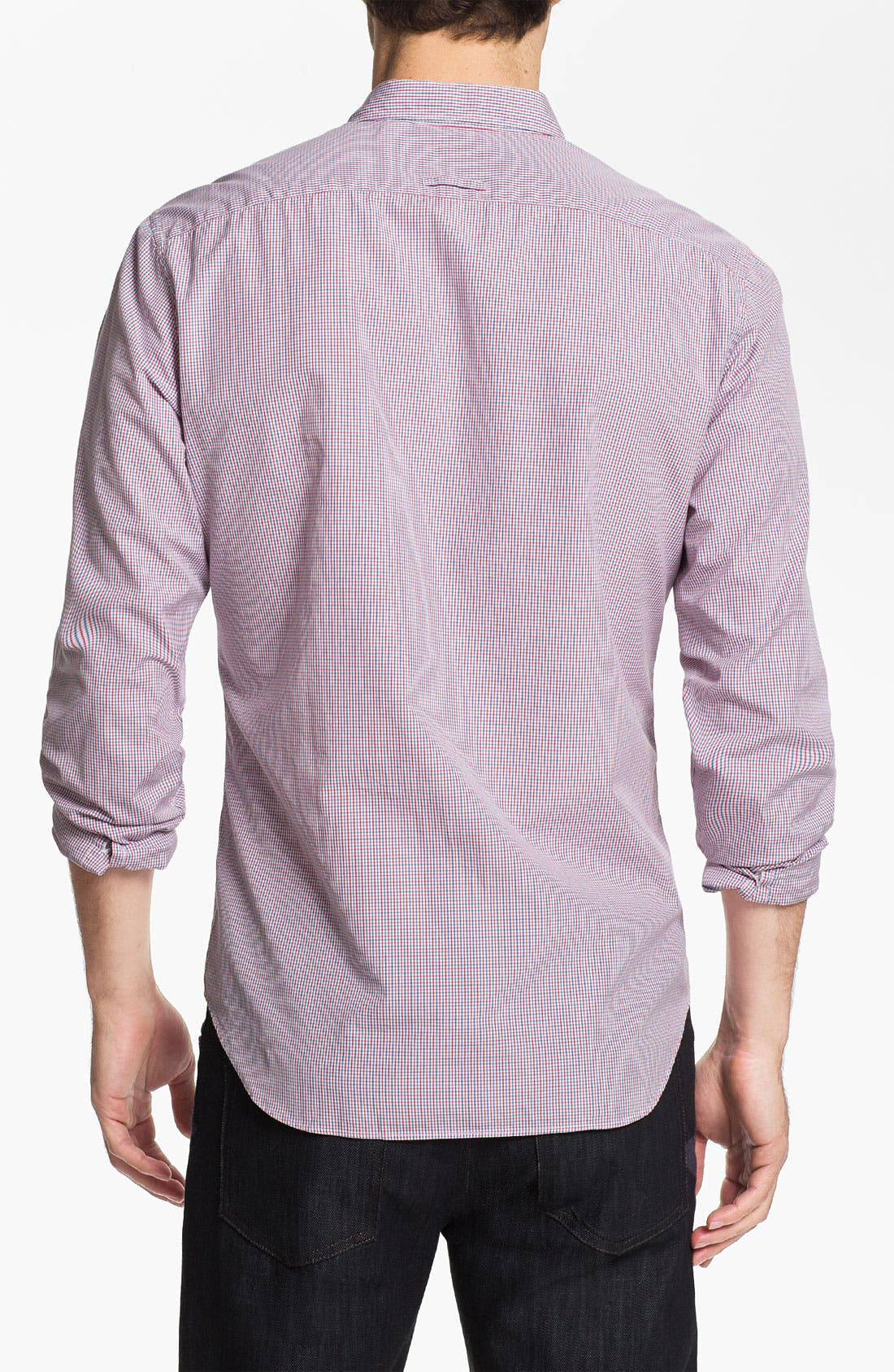 Alternate Image 2  - Burberry Brit Tattersall Check Sport Shirt