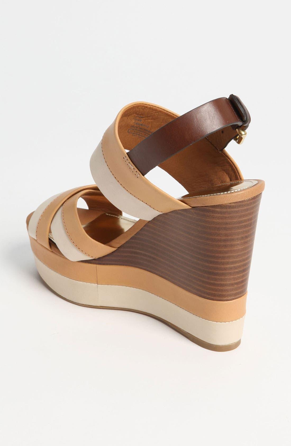 Alternate Image 2  - COACH 'Gaile' Wedge Sandal